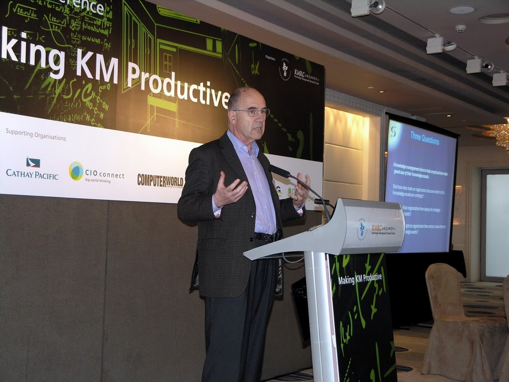 Max Boiset at the HK KMS conference in 2010